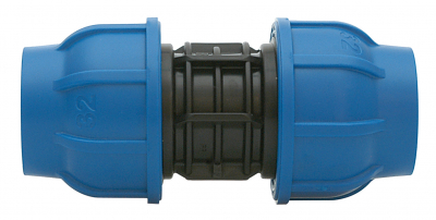 PE-Rohr Kupplung 32 mm x 32 mm