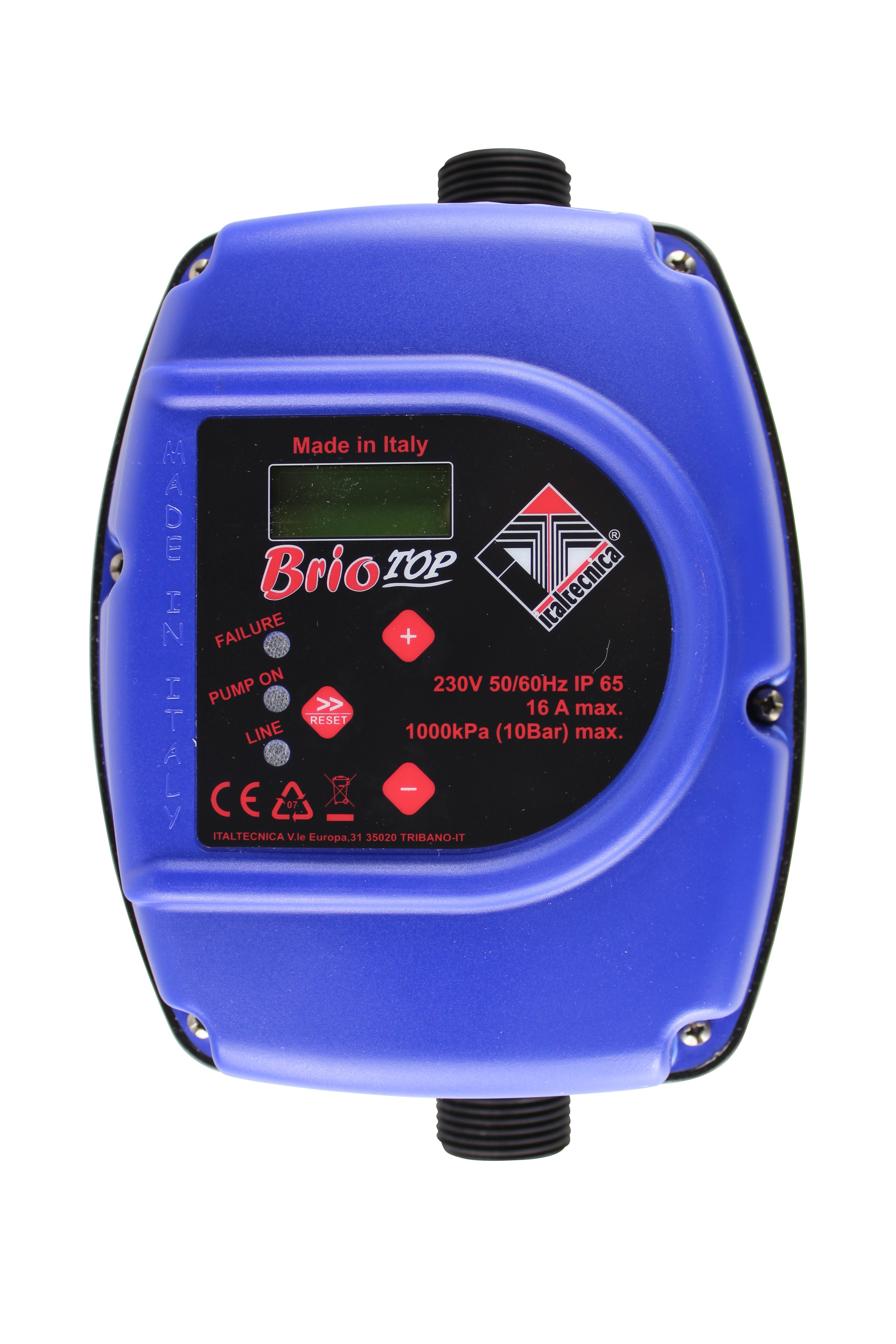 DUG GmbH - Pumpensteuerung Brio Top elektronischer Druckschalter