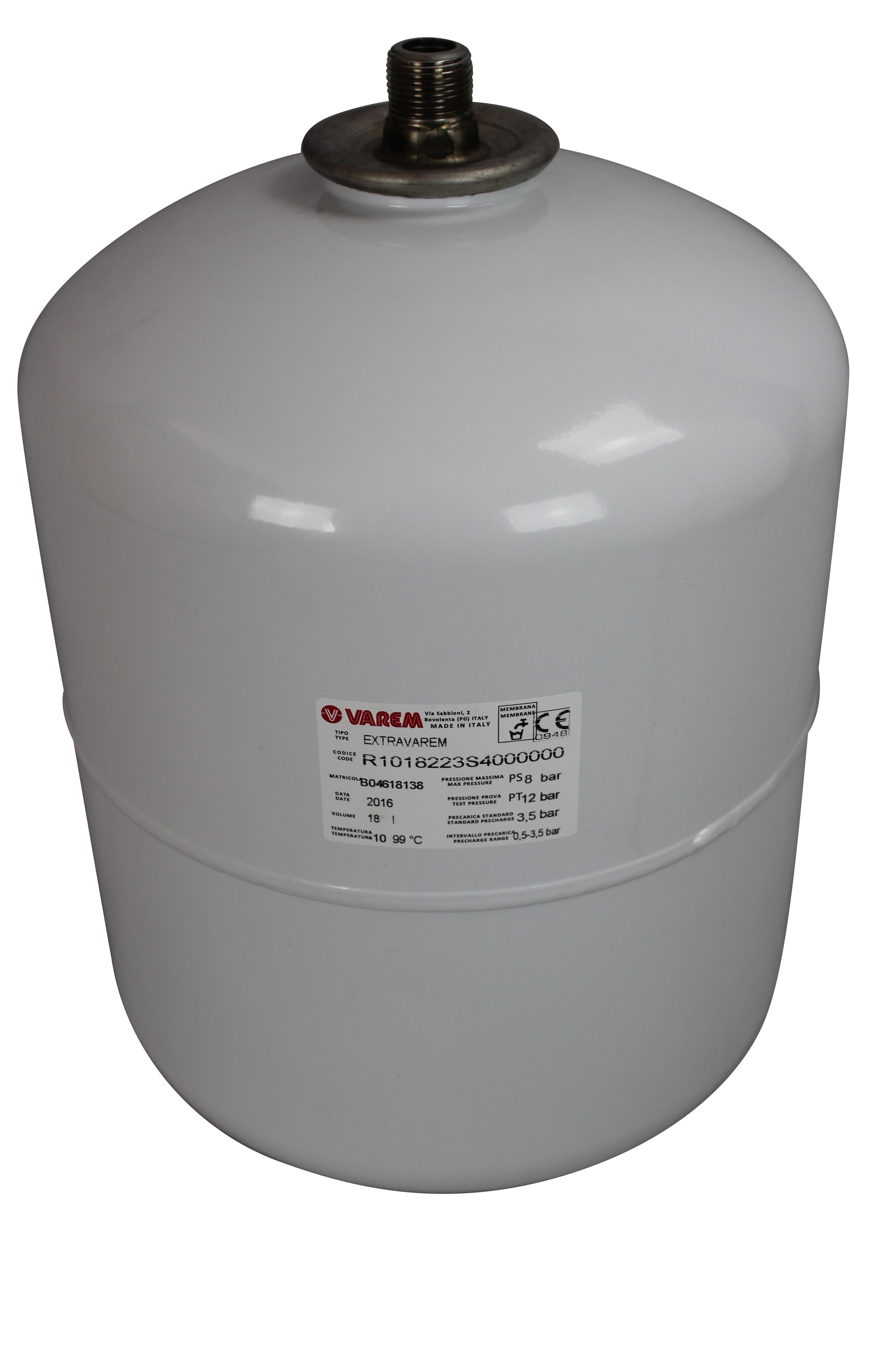 Varem Brauchwasser- Trinkwasser Ausdehnungsgef/ä/ß 12 l