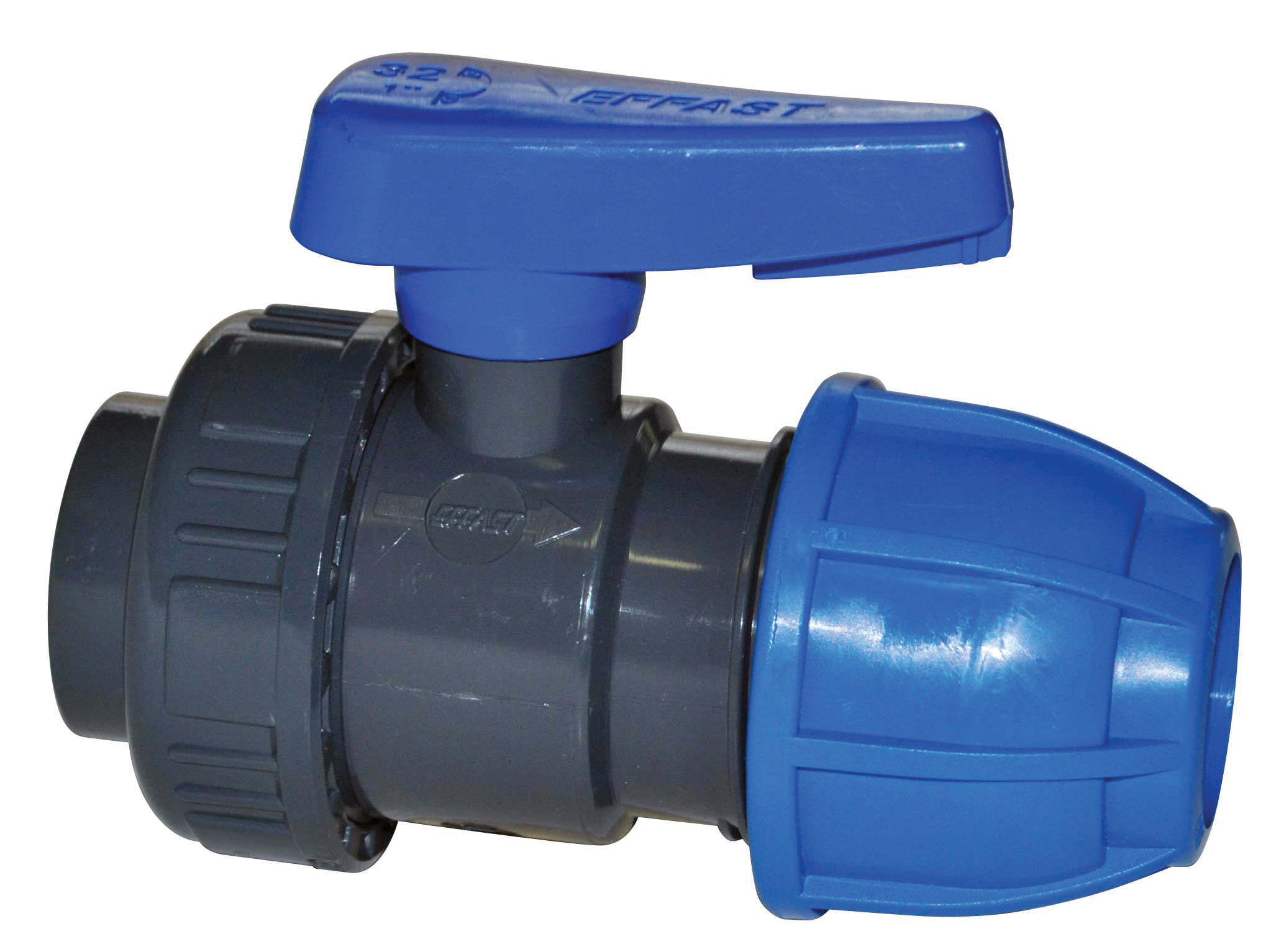 "PE-Rohr T-Stück mit AG-Abzweigung 32 mm x 1/"" x 32 mm"